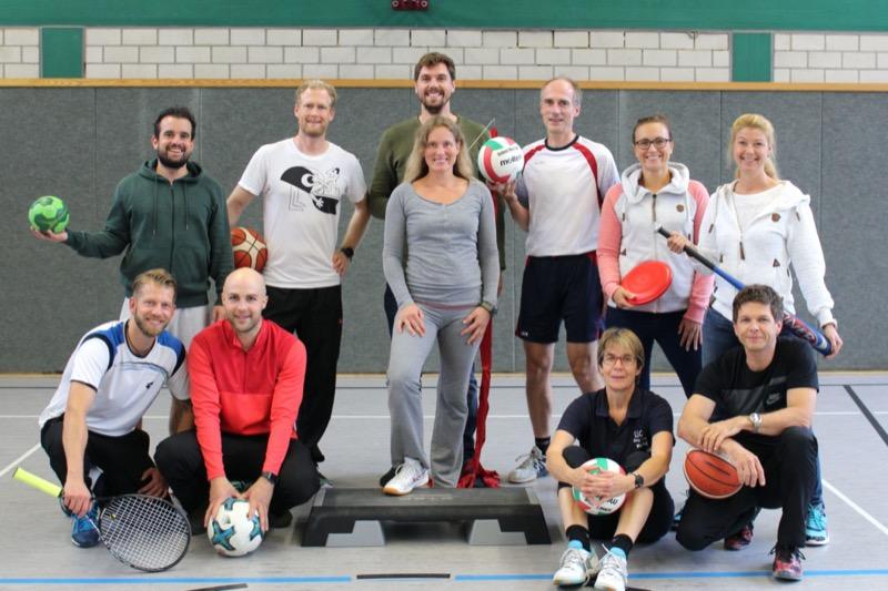 Fachschaft Sport am Sophie Scholl Gymnasium Oberhausen